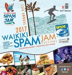 Spam Festival 2017 Waikiki Spam Jam Festival
