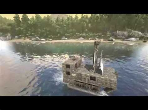ark survival boat designs ark survival evolved pirate ship trailer youtube