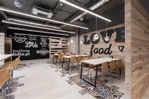 Resto Bar Floor Plan lidl restaurant by mode lina architekci design father