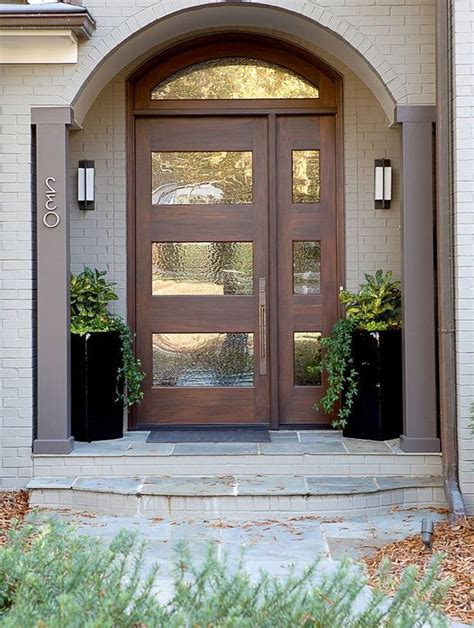 choosing transom window exterior front entry