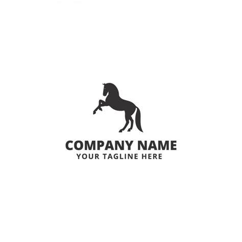 free logo design horse horse shape logo template vector free download