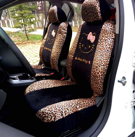 types of car seat covers auto 10pcs universal car seat covers leopard universal