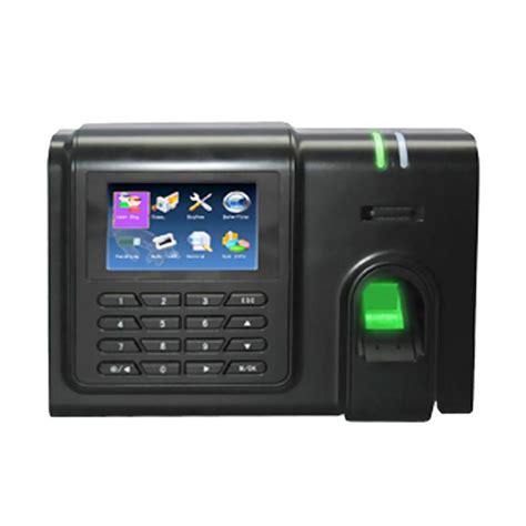 Mesin Fingerprint jual silicon m 100 fingerprint mesin absensi hitam
