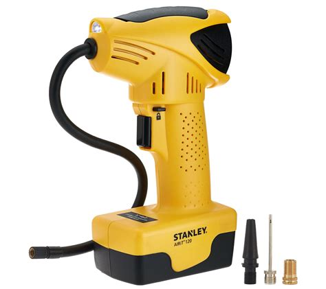 Stanley Cordless Air Compressor With Accessory Tips Page