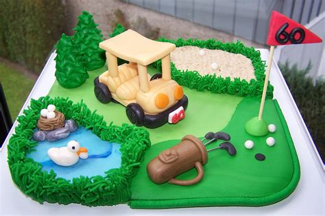 Golf Auto Torta by Golftorte Cakes For Fun