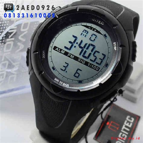 Digitec 3019 Black by Jam Tangan Digitec Dg 3019t Original Termurah