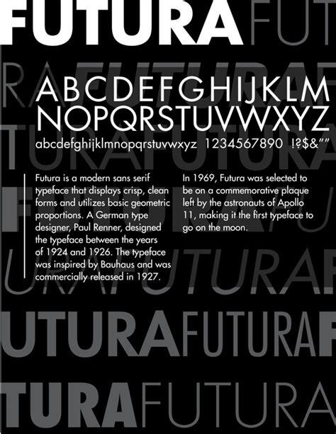 futura it the font is futura font designer is paul renner i like