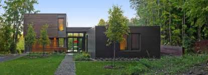 modern house in country impressive modern country retreat in quebec canada t house freshome com