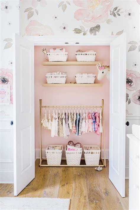 glitter wallpaper nursery touring monika hibbs s oh so sweet blush pink nursery