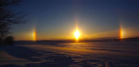 what are sun dogs clouds studyblue