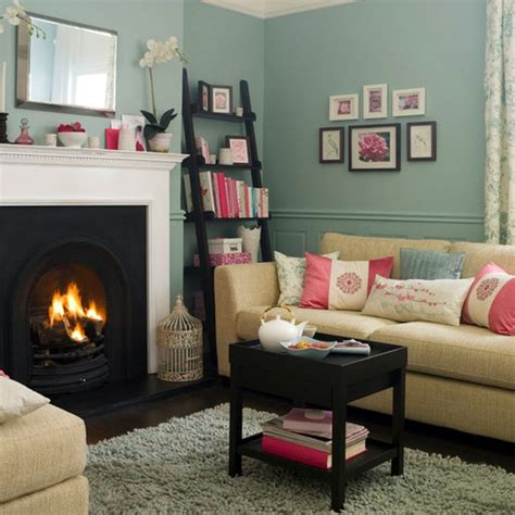 pink and teal living room bold color combo pink teal