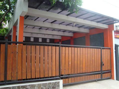 pagar kayu pemborong bangunan
