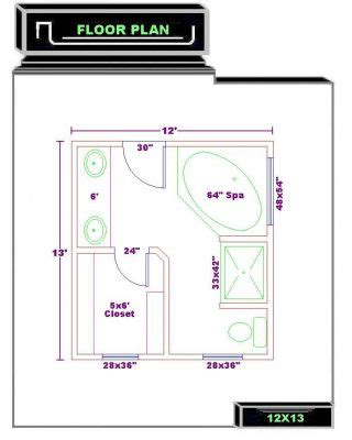 bathroom and walk in closet floor plans click to view full size image