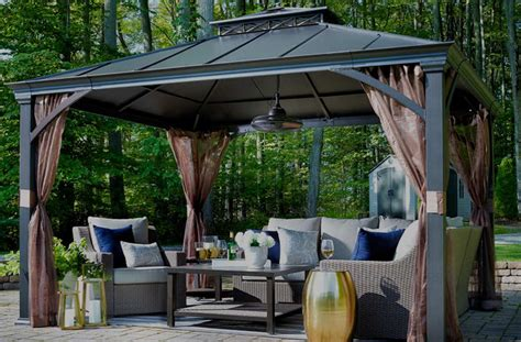 gazebo patio patio furniture lowe s canada