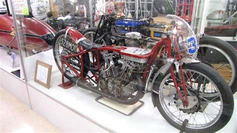"The actual ""Burt Munro"" Indian motorcycle Picture of E"