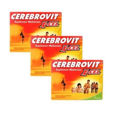 Cerebrovit X Cel Suplemen jual cerebrovit x cel suplemen 3 box harga