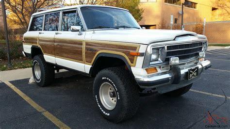jeep wagoneer for jeep wagoneer 1988 amc kaizer jeep grand wagoneer