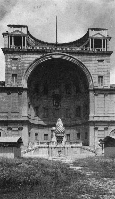 cortile belvedere bramante bramante cortile belvedere vaticano