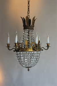 antique looking chandeliers antique chandelier in the empire style