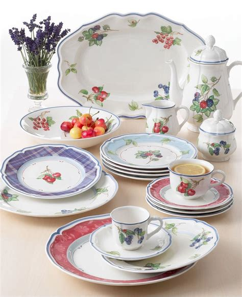 villeroy boch quot cottage inn quot dinnerware casual