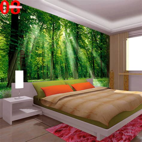 living room wallpaper murals bedroom living room sofa