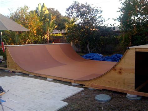 how to build a skatepark in your backyard build your own with r armor from team pain