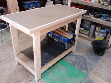 kreg bench kreg 2 x 4 workbench outfeed table by kerry drake