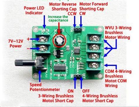 4 wire dc motor wiring diagram dc motor reversing diagram