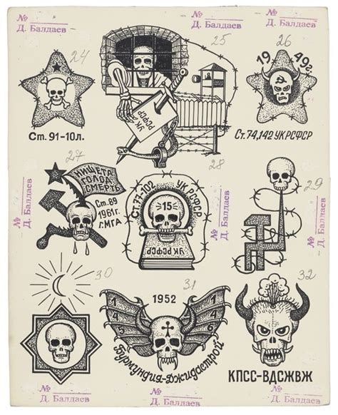 25 best ideas about russian prison tattoos on pinterest