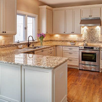 Kitchen Peninsula Ideas Giallo Napoli Granite Kitchen Photos Lowes And Granite