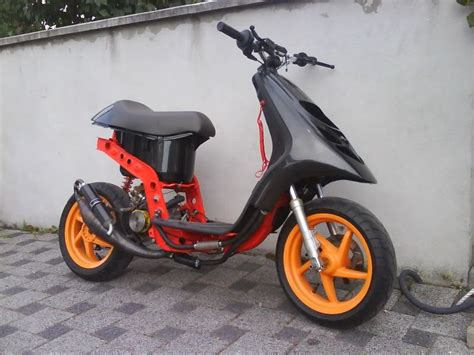 piaggio typhoon is as as a bike can get