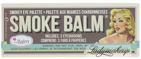 The Balm Smoke Balm With Foil I Avec Feville the balm smokey eye palette smoke balm 1 3