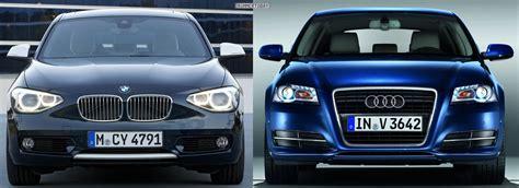 Bmw 1er Vs Audi A3 Sportback by Photo Comparison 2012 Bmw 1 Series Vs Audi A3
