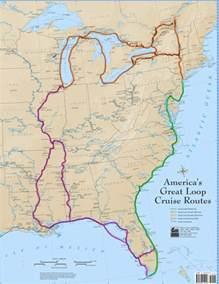 south florida intracoastal waterway map great loop