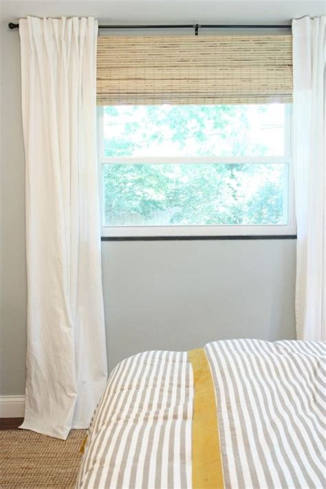 curtains for 8 foot wide window 17 best ideas about short window curtains on pinterest