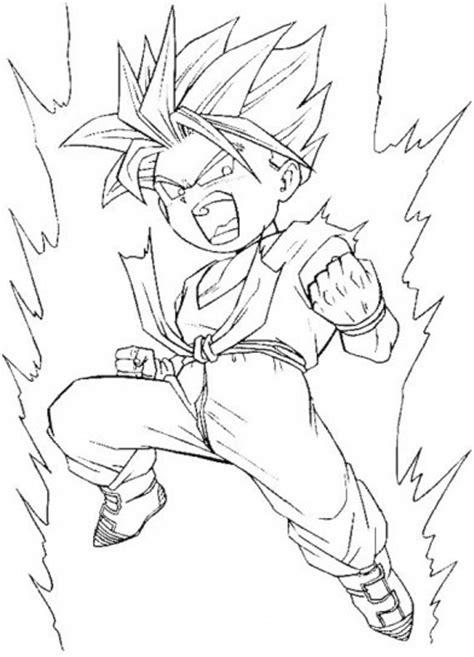 imagenes de goku en dibujo dibujos de dragon ball fotos ideas para colorear ellahoy