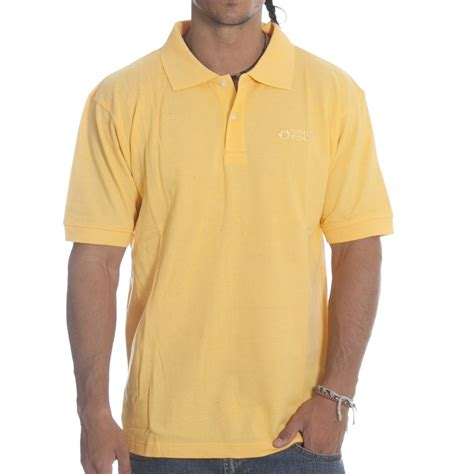 sp polos polo south pole sp polo shirt cyberyellow yl