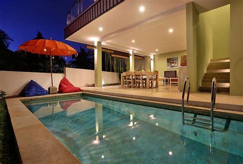 Plunge Pool Room by Gallery Three Bedroom Villa Askara Canggu Villas