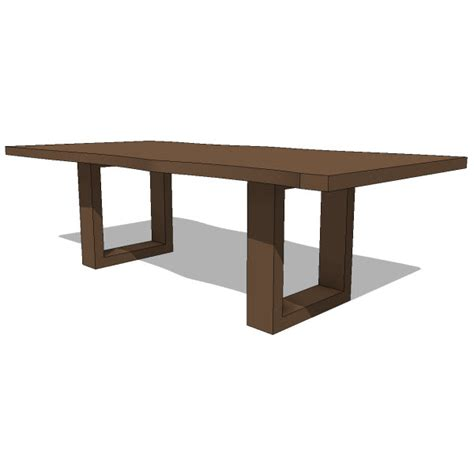 Revit Table And Chairs Family Revit Table Dining Office Family Dining Tables