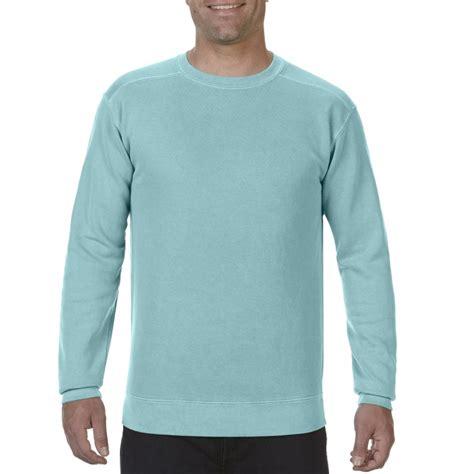 comfort colors crewneck cc1566 comfort colors crewneck sweatshirt chalky