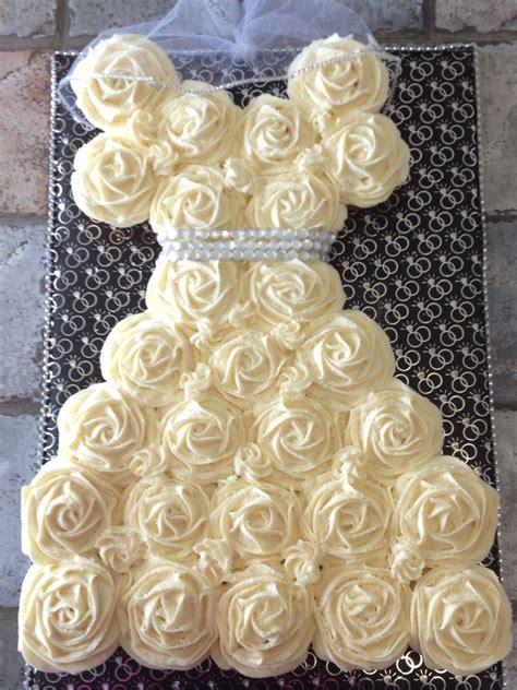 diy cupcake wedding dress cake bridal shower cupcake wedding dress with veil my cakes