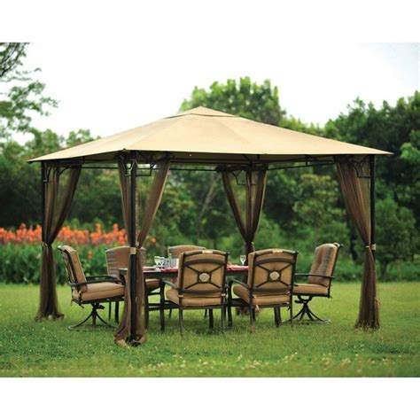 tent gazebo outdoor gazebo canopy tent patio outdoor 10x10 mosquito