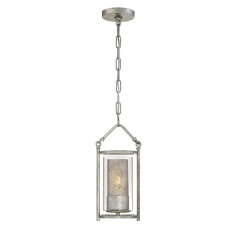 Silver Light Pendants Varaluz Jackson 1 Light Antique Silver Mini Pendant With Arched Windowpane Glass 259m01as The