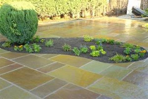 Patio Stone Slabs Indian Sandstone Paving Authentic Reclamation
