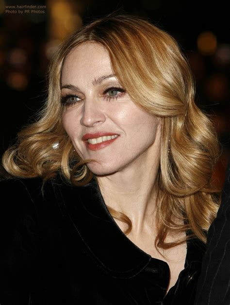 styling gel long hair madonna wearing her long blonde hair with foiled colors