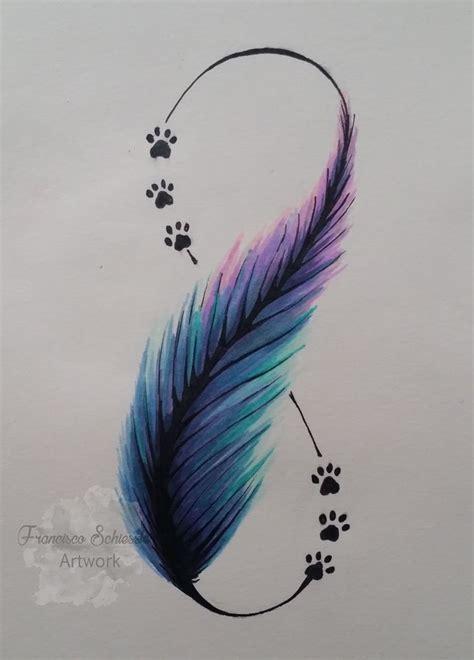 imagenes de infinitos bonitos m 225 s de 25 ideas incre 237 bles sobre tatuaje pluma en