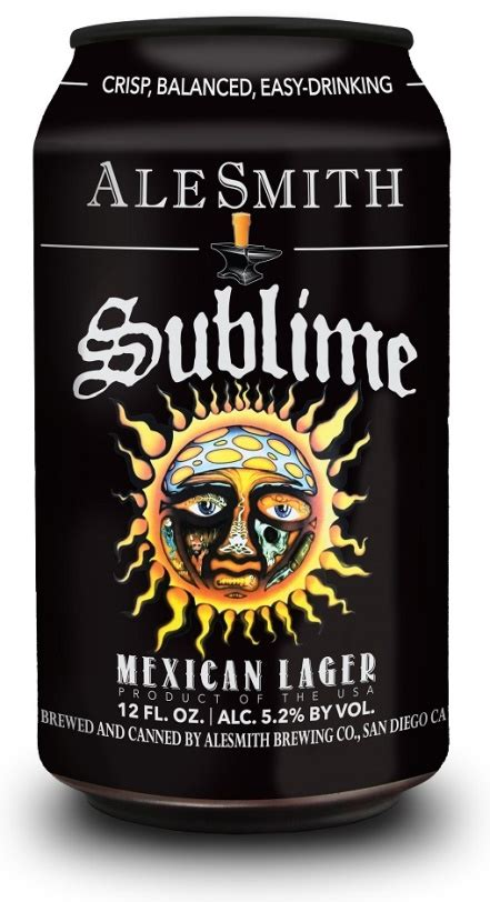 alesmith brewing releases sublime mexican lager cans