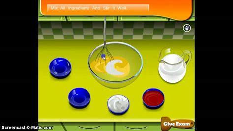 game membuat ice cream sara sara s cooking class berry ice cream game youtube
