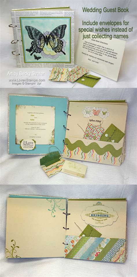 Wedding Wishes Envelope Guest Book by Wedding Ideas A Guest Book To Remember Lovensts