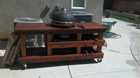 woodworking grilling station plans